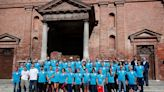 Italians stage running race between towns devastated by pandemic