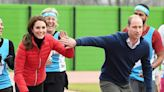 Kate vs William! These photos show them at their most competitive