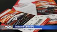 Broncos Single-Game Tickets On Sale Now