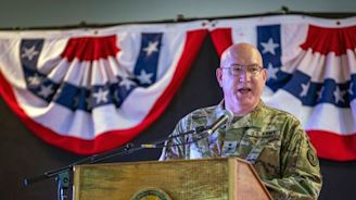 New commander takes over Horn of Africa mission ahead of proposed US shift