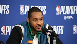 Carmelo Anthony Says He Believes Athletes Are 'Naturally' Susceptible to Depression