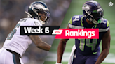 Fantasy WR Rankings Week 6: Who to start, sit at wide receiver in fantasy football