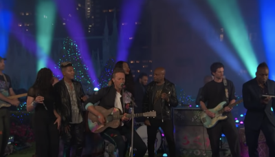 Watch Coldplay Perform Stripped-Down 'Higher Power' on 'Fallon'