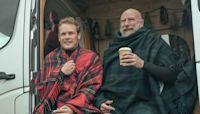 'Outlander' Stars Sam Heughan and Graham McTavish Guide us Through the Fun of 'Men in Kilts'