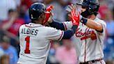 Swanson's slam powers Braves over Phillies 7-2