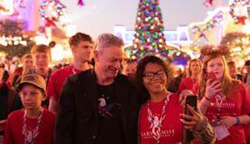 Forrest Gump Actor Gary Sinise Treats 1K Gold Star Children to Free Disney World Vacation