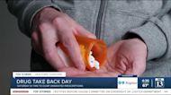 Drug take back day is Saturday