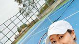 胡定欣父女檔fit爆打網球