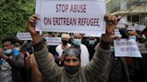 Eritrean refugees rally against 'dire situation' in Tigray camps