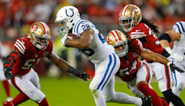 WATCH: Jonathan Taylor TD extends Colts lead over 49ers