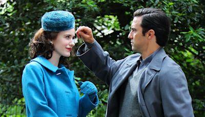 Milo Ventimiglia Joins The Marvelous Mrs. Maisel Season 4 - See Him On Set with Costar Rachel Brosnahan