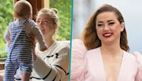 Amber Heard Shares Rare Pic On Daughter Oonagh's First Half Birthday: 'The Best 6 Months Of My Life'
