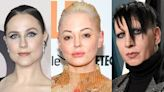 Rose McGowan Applauds Evan Rachel Wood for Coming Forward With Marilyn Manson Abuse Claims