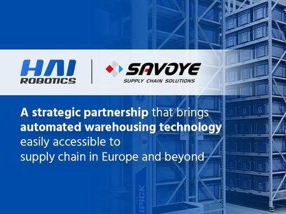 海柔創新與智能物流商Savoye戰略攜手 為智能倉儲增效 | 蕃新聞