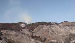 Alisal fire burns near Santa Barbara, California