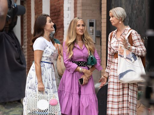 'Sex and the City' reboot: Charlotte, Miranda's kids are all grown up in new 'And Just Like That' photos