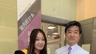 宏國德霖科大畢業生洪楷佳德智群三育表現優秀 獲僑務委員會頒獎