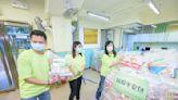 新地及一田義工隊贈「抗疫平安包」及口罩 予長者及基層