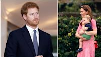 """Prince Harry """"Spent Less Time"""" With Prince Louis Due to Tensions With Prince William"""
