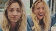 Kaley Cuoco Reacts to Her First Emmy Nomination for 'The Flight Attendant'