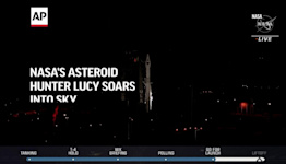 NASA's asteroid hunter Lucy soars into sky