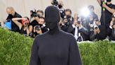 Kim Kardashian Still Got Glam with Full Face of Makeup Despite Wearing a Head Mask to 2021 Met Gala
