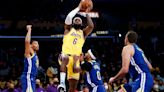 3 takeaways: Lakers lose to Warriors in debut of LeBron James, Russell Westbrook and Anthony Davis together