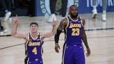 Look: LeBron James has hilarious reaction to news of Alex Caruso arrest
