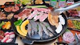 超過80種肉品海鮮自助吧【肉鮮生韓式烤肉吃到飽】369元吃超飽!