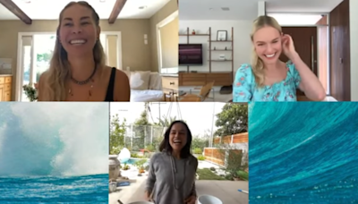 Kate Bosworth Reunites With 'Blue Crush' Co-Stars Michelle Rodriguez and Sanoe Lake 18 Years Later