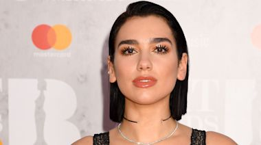Take A Break From Doomscrolling And Look At Dua Lipa's Exposed Thong