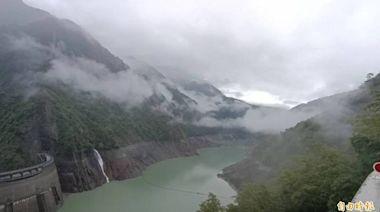德基水庫再進帳177萬噸 山區下雨明天可望大進帳