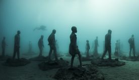 These underwater art exhibits are helping to save our oceans