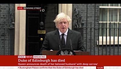 Boris Johnson pays tribute to Prince Philip after Duke of Edinburgh's death