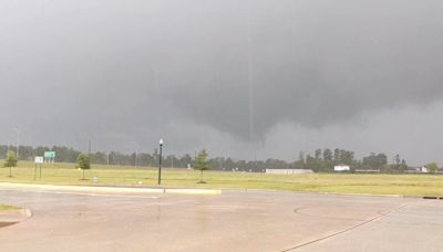 Possible Tornado Forms Near Spring, Texas, Amid Severe Weather Threat