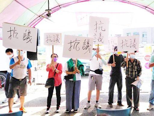 嘉義水上新公所旁空地擬設太陽能板 居民抗議:強烈反對
