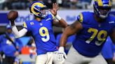 The Latest: Rams' Stafford throws 300th TD vs. former team