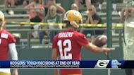 Packers fans react with cheers, caution upon Aaron Rodgers' return