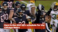 Chicago Bears 2021 NFL schedule