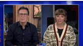 Taylor Swift Reveals to Stephen Colbert Who 'Hey Stephen' Is Really About