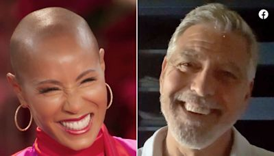 George Clooney Asks Jada Pinkett Smith 'How Do You Put Up with Will?' in Funny 50th Birthday Message