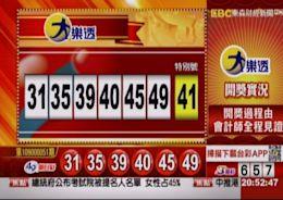 5/29 大樂透、雙贏彩、今彩539 開獎囉!