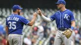 Royals top Brewers 5-2; early start for fans to watch Bucks