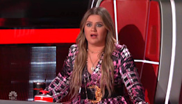 Kelly Clarkson calls 'Voice' contestant a 'country Patrick Swayze'