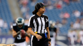 Maia Chaka Becomes NFL's 1st Black Female Offical: 'I've Just Been Grinding for So Long at This'