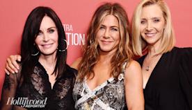 "Jennifer Aniston Talks 'Friends,' Getting ""Powerball Lucky"" at Mini Reunion at SAG-AFTRA Foundation Event"