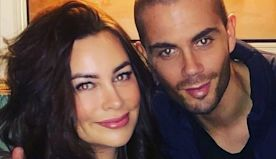 Max George showers Stacey Giggs with romantic gifts on second anniversary