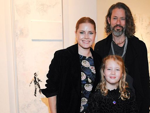 Amy Adams Makes Rare Outing With 9-Year-Old Daughter Aviana, Husband Darren Le Gallo: Pics