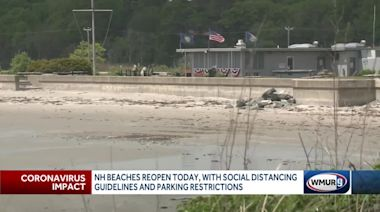 NH Seacoast beaches reopen Monday with social distancing guidelines, parking restrictions