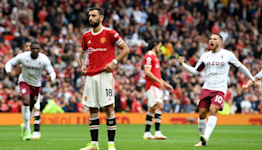 Fernandes vows to keep taking penalties after Villa misery